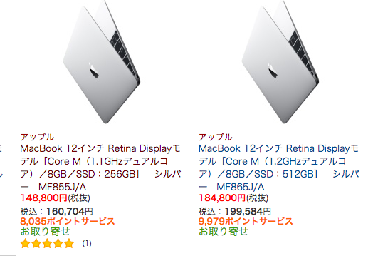 Apple 大手電機屋