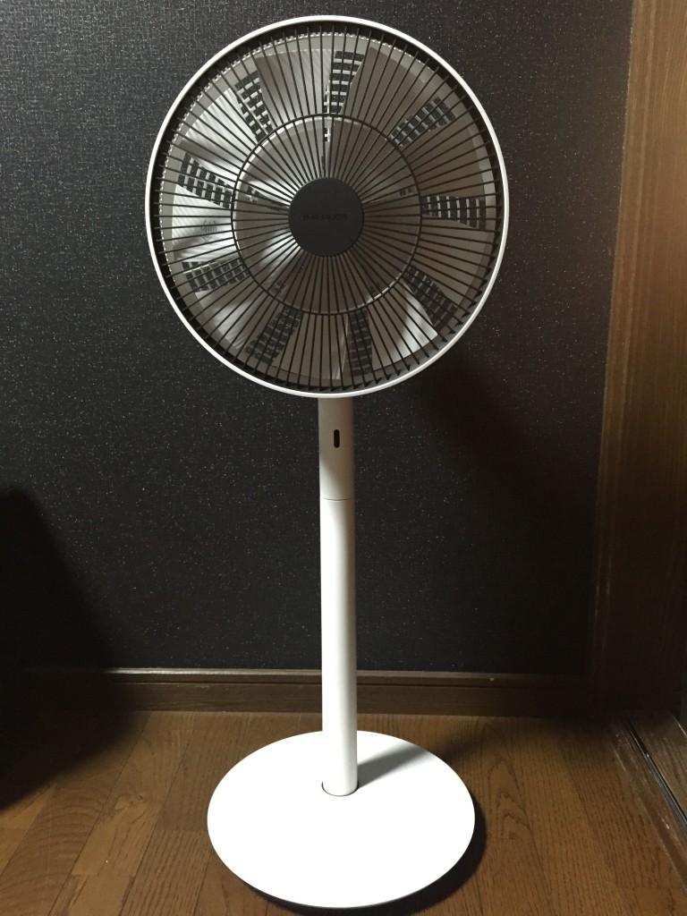 バルミューダのGreen fan Japan1