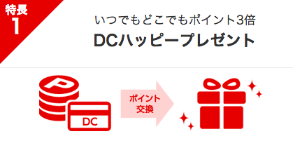 DCカードジザイル 還元率
