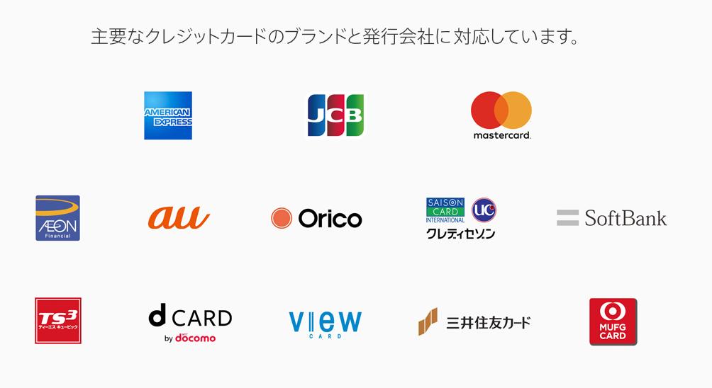 Apple Pay カードブランド