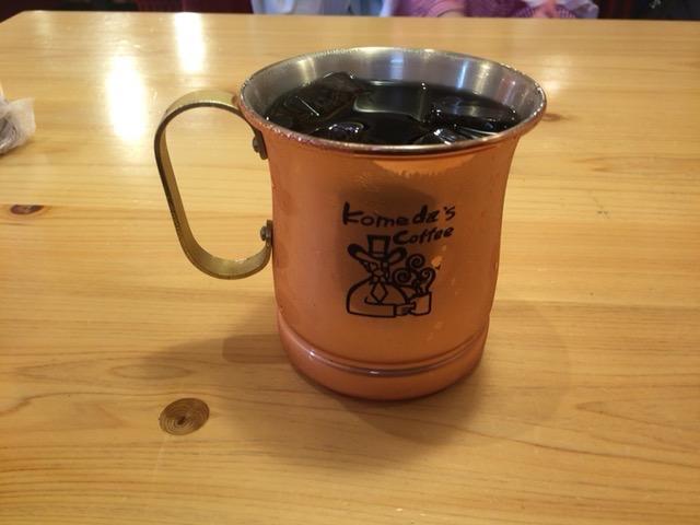 コメダ珈琲 アイスコーヒー 1